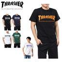 スラッシャー Tシャツ 半袖 メンズ MAG LOGO S/S TEE マグ ロゴ TH8101 THRASHER