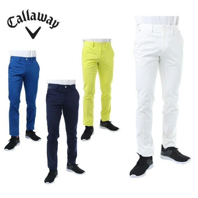 キャロウェイ ゴルフウェア ロングパンツ メンズ ストレッチツイルテーパード 241-8120507 Callaway