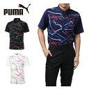 プーマ ゴルフウェア ポロシャツ 半袖 メンズ ゴルフ NI...