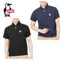 チャムス CHUMS ポロシャツ メンズ Wappen Shawl Polo Shirt ワッペンショール CH01-1346