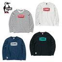 チャムス CHUMS Tシャツ 長袖 メンズ CHUMS Logo L/S T-Shirt チャムスロゴ長袖Tシャツ トップス カットソー CH01-1320