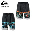 епеде├епе╖еые╨б╝ QUIKSILVER е╡б╝е╒е╤еєе─ есеєе║ SLAB VOLLEY 20 QBS182001 18SS