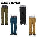 エスティボ ESTIVO スノーボードウェア パンツ レディース ハーモニー パンツ EVW3823