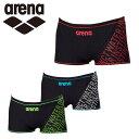 アリーナ arena トレーニング水着 ショートスパッツ メンズ ショートボックス FSA-8602