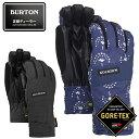 バートン スノーボードグローブ レディース ゴアテックス Women 039 s Burton Reverb GORE-TEX Glove 103321 BURTON