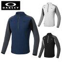 オークリー ゴルフウェア セーター メンズ スカル SKULL DIVIDED ハーフジップセーター...