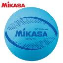 ミカサ MIKASA ソフトバレーボール 円周78cm 約210g MSN78-BL
