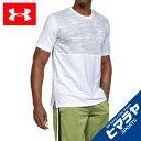 アンダーアーマー Tシャツ 半袖 メンズ UAスポーツスタイル コットンメッシュTシャツ 1329279 100 UNDER ARMOUR