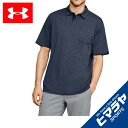 アンダーアーマー ポロシャツ 半袖 メンズ UAニューチャージドコットンスクランブルポロ 1321111-408 UNDER ARMOUR