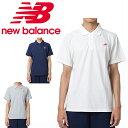 ニューバランス ポロシャツ 半袖 メンズ ピケポロシャツ AMT91593 new balance