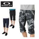 オークリー 7分丈パンツ メンズ ENHANCE DOUBLE CLOTH 3/4 PANTS.QD 9.0 エンハンス ダブル クロス パンツ 422571JP OAKLEY