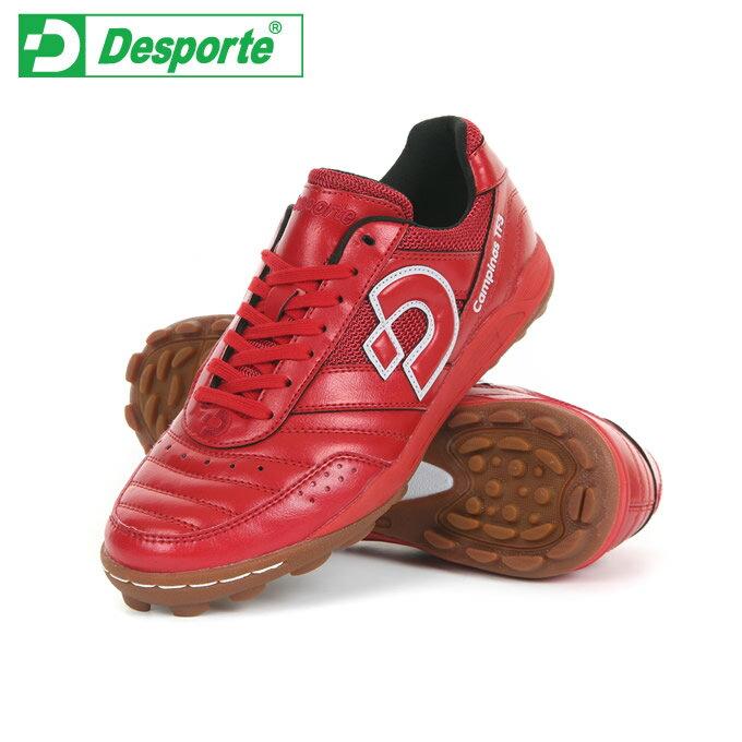 デスポルチDesporteサッカートレーニングシューズメンズカンピーナスTF3DS-1441RDWH