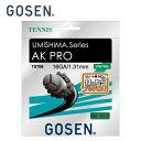 ゴーセン GOSEN 硬式テニスガット AKプロ16 TS706-BK