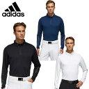 アディダス ゴルフウェア ポロシャツ 長袖 メンズ パフォーマンス ISポロシャツ perfm lspolo GHS97 adidas
