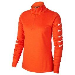<strong>ナイキ</strong> スポーツウェア 長袖Tシャツ レディース ウィメンズ スウッシュ ラン フルジップトップ CI9498-891 NIKE