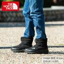 ノースフェイス スノーブーツ メンズ レディース ヌプシブーティーウール5ショート Nuptse Bootie Wool V Short NF51979 K THE NORTH F..