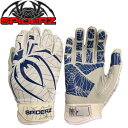 スパイダーズ 野球 バッティンググローブ 両手用 メンズ レディース スパイダーズバッティング手袋LITE MC-SP252 SPIDERZ