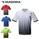 ディアドラ テニスウェア ゲームシャツ メンズ DTG0336 DIADORA