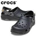 ショッピングcrocs クロックス クロックサンダル メンズ クラシック オールテレイン クロッグ 206340-001 crocs