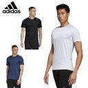 アディダス Tシャツ 半袖 メンズ HEAT.RDY 3ストライプス 半袖Tシャツ HEAT.RDY 3-STRIPES TEE GUU17 adidas