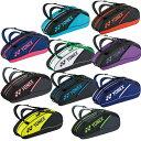 ヨネックス テニス バドミントン ラケットバッグ 6本用 メンズ レディース ラケットバッグ6 BAG2132R YONEX