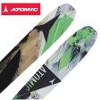 アトミック(ATOMIC) スキー板・セット金具付(メンズ・レディース) AUTOMATIC 102+SQUIRE 11 110mm 【14-15 2015モデル】〇フリースキー〇