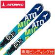 アトミック(ATOMIC) スキー板・セット金具付 BLUESTER BEND-X E LITHIUM 10 【15-16 2016モデル】
