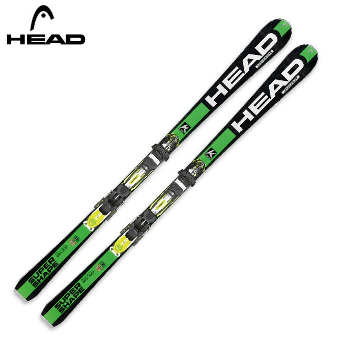 ヘッド(HEAD) スキー板・セット金具付 i.SUPERSHAPE MAGNUMPRX12S 【15-16 2016モデル】