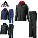 アディダス ( adidas )トレーニングウェア( メンズ ) 上下セットM adidas24/7 中綿フーディジャケット+M adidas24/7 中綿パンツBCL58+BCL59