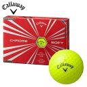 キャロウェイ Callawayゴルフボール 1ダース 12個入りクロムソフトCHROME SOFT