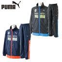 プーマ ( PUMA ) トレーニングウェア 上下セット(ジュニア) 裏トリWBKジャケット+裏トリWBKパンツ 839806+839807