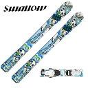 スワロー Swallow ジュニア スキー板セット 金具付 ...