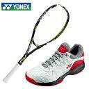 ヨネックス ソフトテニスラケットセット ラケット テニスシューズ 張り上げ済み メンズ レディース マッスルパワー200XF パワークッション103 オムニクレー YONEX