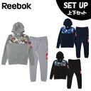 リーボック Reebok スポーツウェア上下セット メンズ ワンシリーズ ハイブリッド フルジップパーカー + ハイブリッドパンツ FTQ75 + FTQ86
