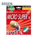 GOSEN ゴーセン硬式テニスガットオージー・シープ ミクロスーパー16TS400テニスストリング ガット