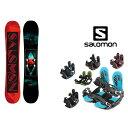 スノーボード 2点セット メンズ サロモン salomon ...