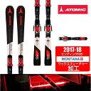 アトミック ATOMIC スキー板セット 金具付 メンズ R...