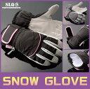 2013-2014 レディース ニューモデルスノーボードグローブ スキーグローブ合成皮革 ウィンターグローブボード グローブ
