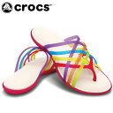 クロックス(crocs) シャワーサンダル(レディース) ワラチェ フリップフロップ ウィメン(MU/GE) 14122-93H