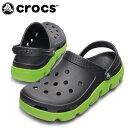 クロックス(crocs) サンダル(ユニセックス) デュエット スポーツ クロッグ (GP/GRN) 11991
