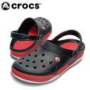 クロックス(crocs) サンダル(ユニセックス) フロント コート クロッグ(BK/RD) 14300