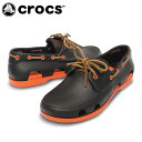 クロックス(crocs) ボートシュー ビーチライン ボート シュー メン(ESP/OG) 14327