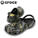 クロックス(crocs) クロックサンダル クロックス クラシック リアルツリー APC(BK) 12133