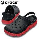 【エントリーでポイント5倍 8/21 23:59まで】クロックス(crocs) サンダル デュエット スポーツ クロッグ 11991-063