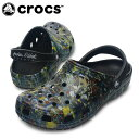 【エントリーでポイント5倍 8/21 23:59まで】クロックス(crocs) クロックサンダル ジャックソン ポロック スタジオ クロッグ 12871-001