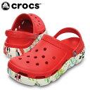 クロックス(crocs) クロックサンダル デュエット スポーツ スプラッター グラフィック クロッグ 15028-646