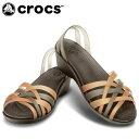 クロックス(crocs) ミュール ワラチェ ミニ ウェッジ ウィメン 14384-80Z