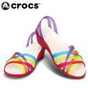 クロックス(crocs) ミュール ワラチェ ミニ ウェッジ ウィメン 14384-93H