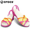 クロックス(crocs) ミュール ワラチェ ミニ ウェッジ ウィメン 14384-664