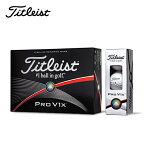 タイトリスト(TITLEIST)ゴルフボールPRO V1X 2015(ダブルナンバー/11・33・55・77) 【1ダース(12個入り)】